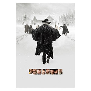 Hateful Eight. Размер: 35 х 50 см